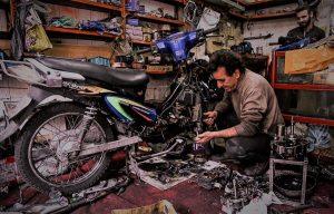 علت خرابی موتورسیکلت