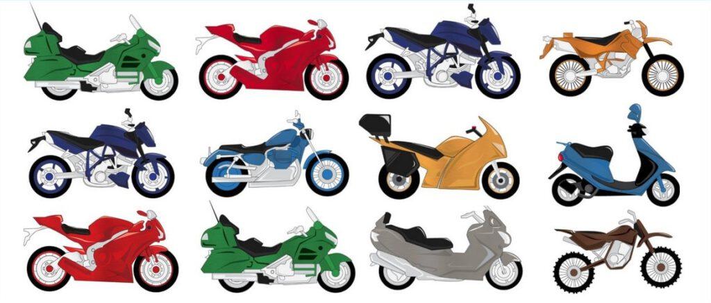 انواع موتور سیکلت