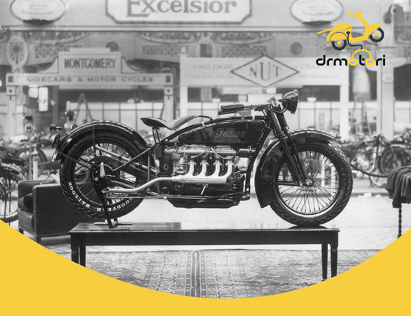 تاریخچه موتور سیکلت