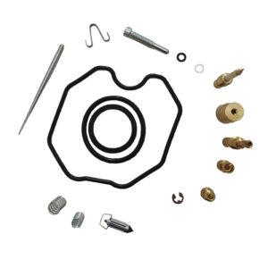 لوازم کاربراتور موتور سیکلت کد KH125 مناسب برای هوندا مجموعه 17 عددی